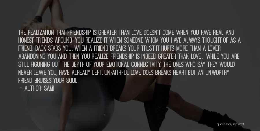 Friends But Love Quotes By SAMi