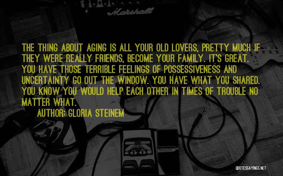 Friends Can Be Lovers But Lovers Can't Be Friends Quotes By Gloria Steinem
