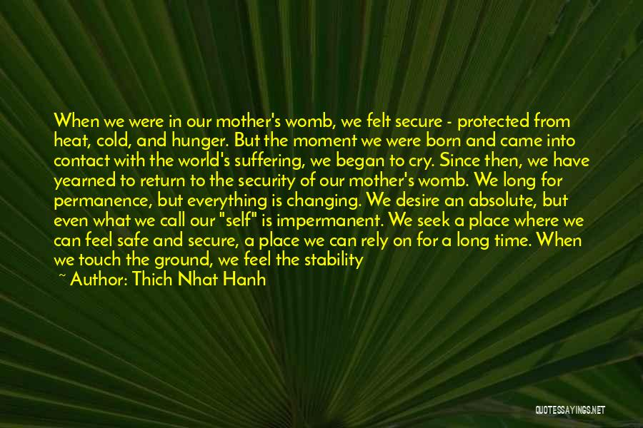 Friends Changing Quotes By Thich Nhat Hanh