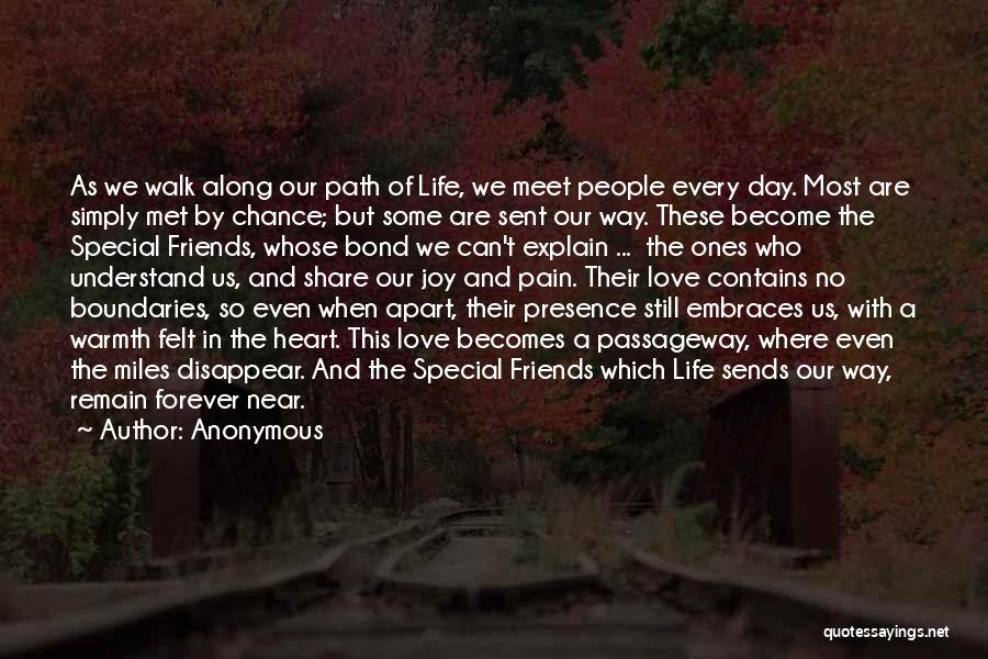 Friends Forever With Quotes By Anonymous