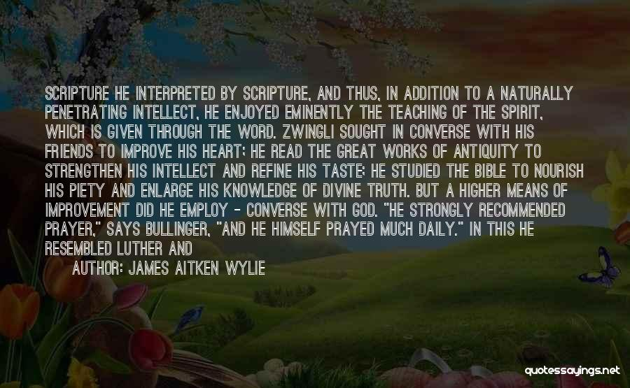 Friends Given By God Quotes By James Aitken Wylie