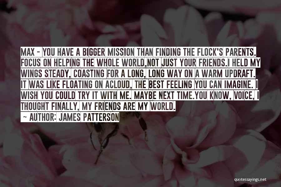 Friends Helping You Quotes By James Patterson