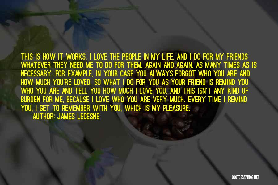 Friends In Times Of Need Quotes By James Lecesne