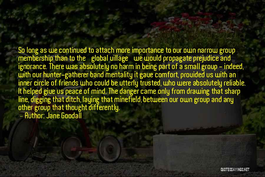Friends Indeed Quotes By Jane Goodall