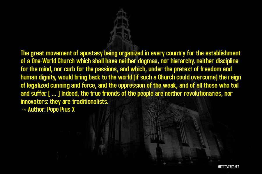 Friends Indeed Quotes By Pope Pius X