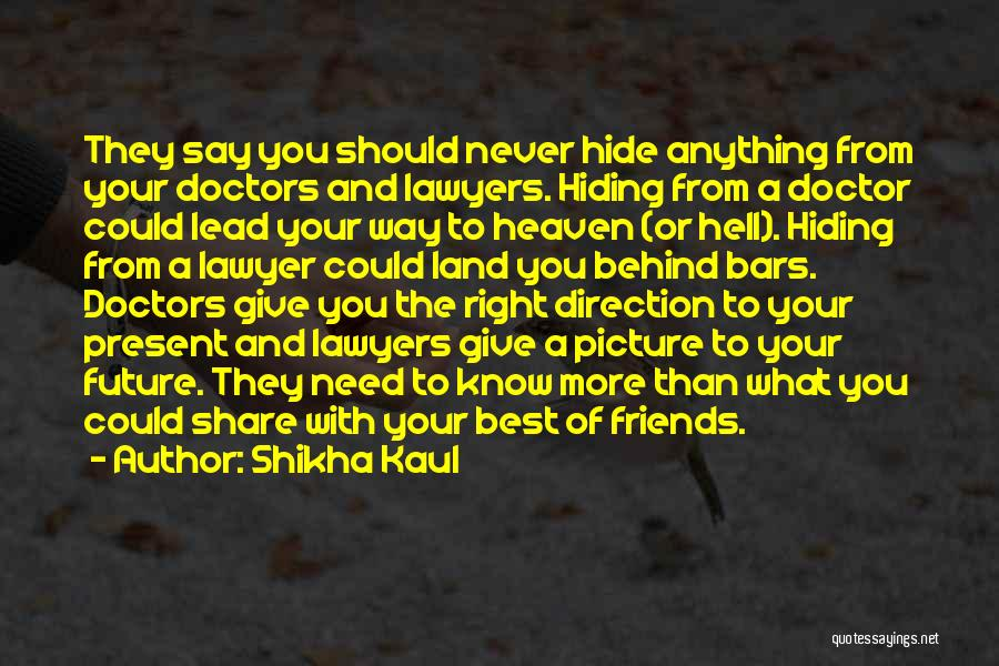 Friends Never Give Up Quotes By Shikha Kaul
