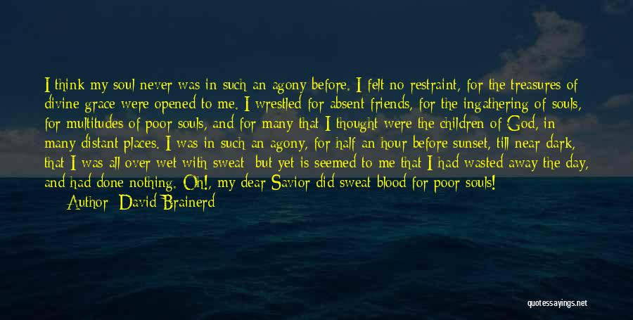 Friends Treasures Quotes By David Brainerd