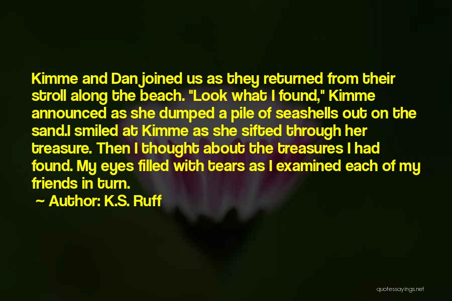 Friends Treasures Quotes By K.S. Ruff