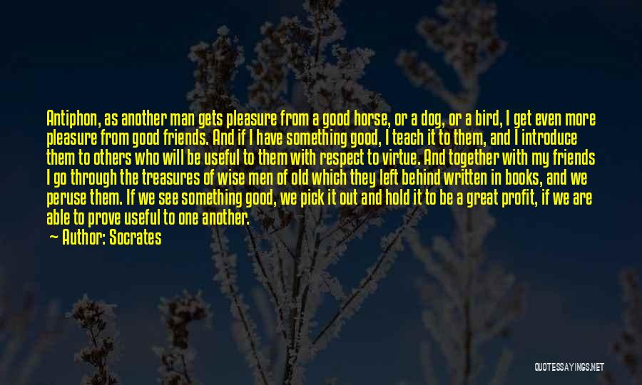 Friends Treasures Quotes By Socrates