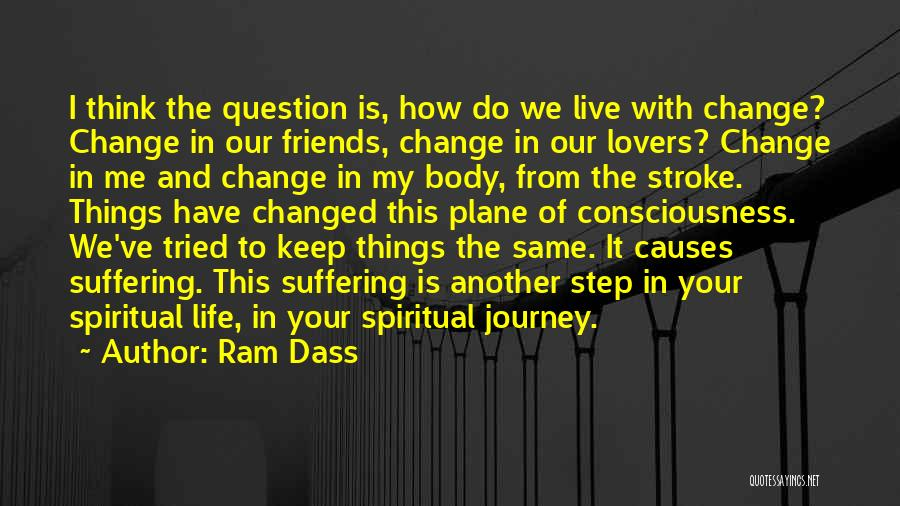 Friends Who Change Your Life Quotes By Ram Dass