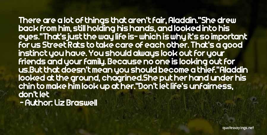 Friends Who Doesn't Care Quotes By Liz Braswell