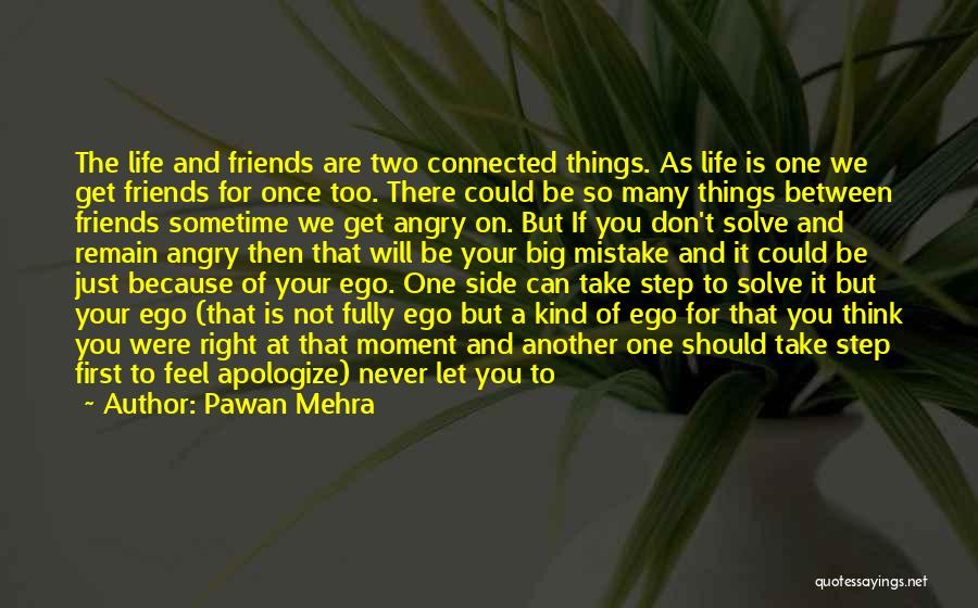 Friends Who Doesn't Care Quotes By Pawan Mehra