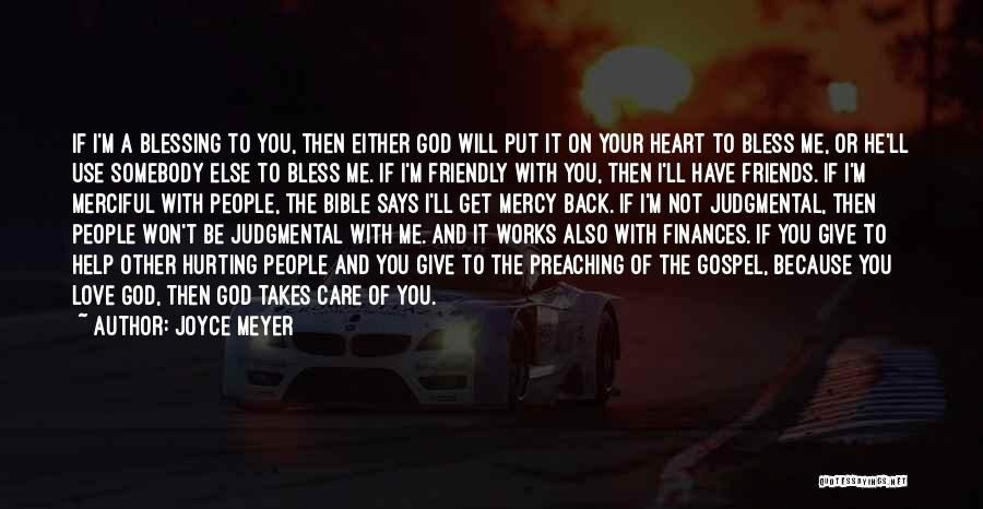 Friends Who Hurt You Quotes By Joyce Meyer