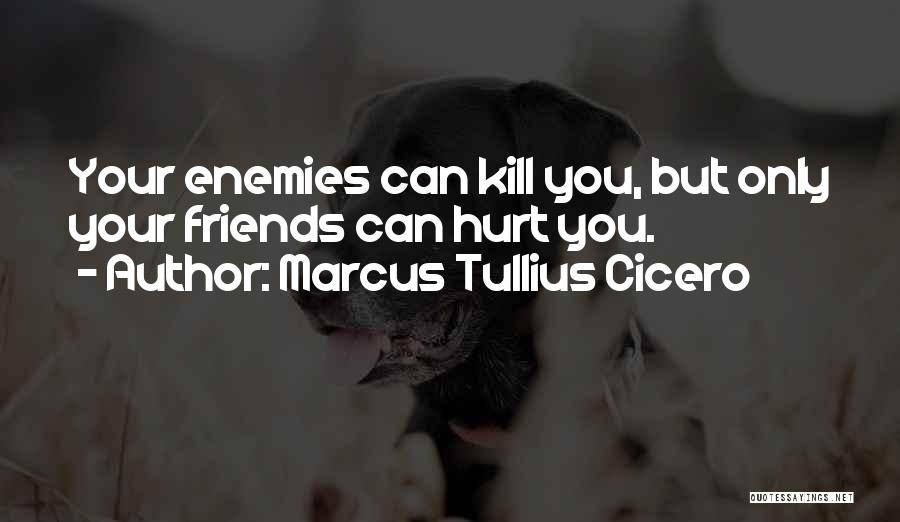 Friends Who Hurt You Quotes By Marcus Tullius Cicero