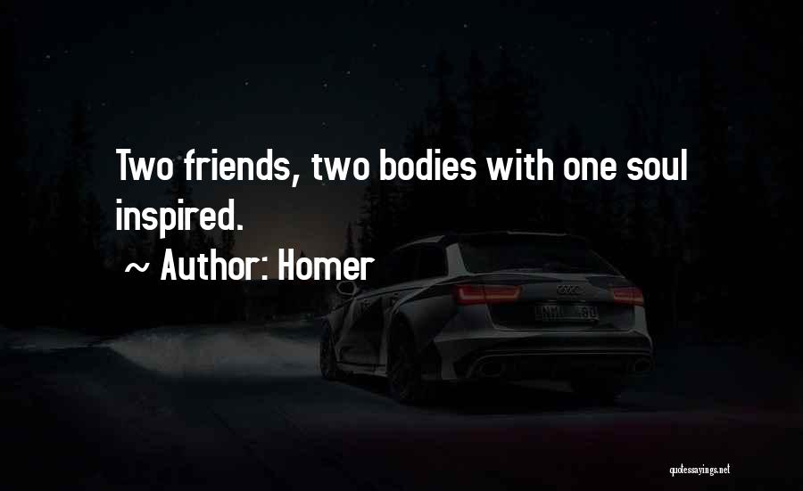 Friends With Quotes By Homer