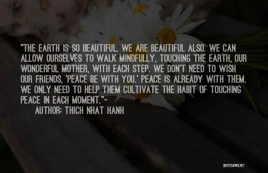 Friends You Don't Need Quotes By Thich Nhat Hanh