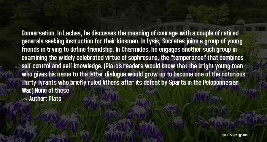 Friends You Thought You Knew Quotes By Plato