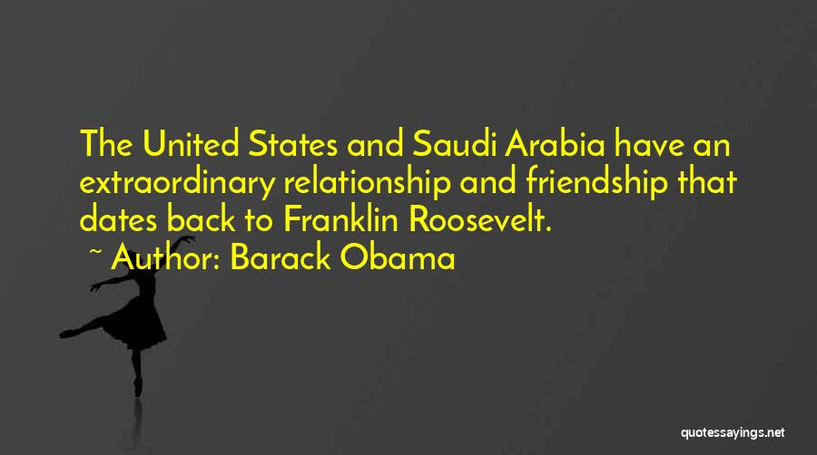 Friendship And Relationship Quotes By Barack Obama