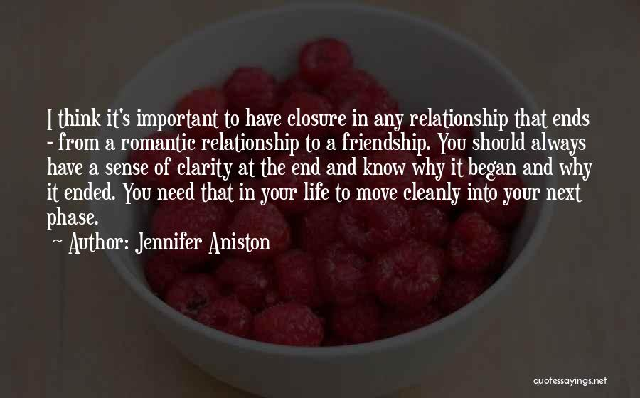 Friendship And Relationship Quotes By Jennifer Aniston