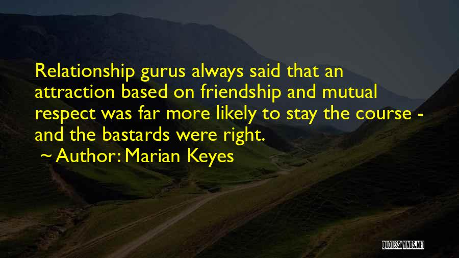 Friendship And Relationship Quotes By Marian Keyes