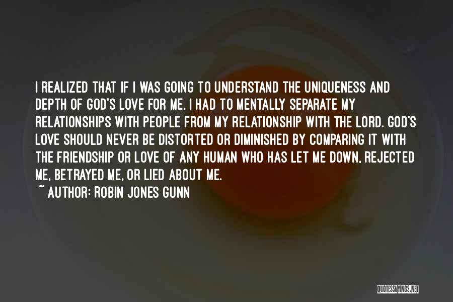 Friendship And Relationship Quotes By Robin Jones Gunn