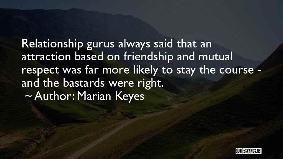 Friendship Based Quotes By Marian Keyes