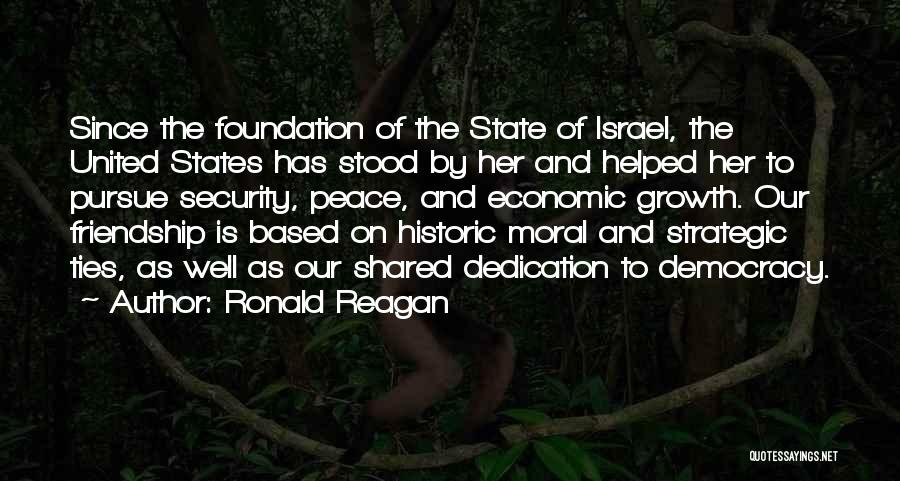 Friendship Based Quotes By Ronald Reagan