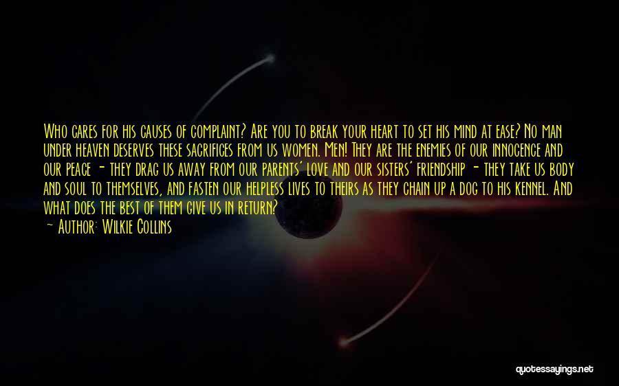 Friendship Break Quotes By Wilkie Collins