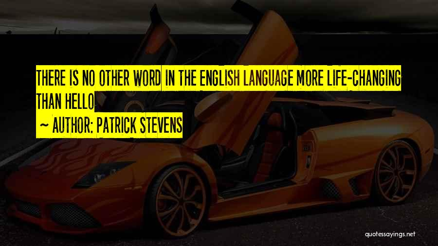Friendship Changing Into Love Quotes By Patrick Stevens