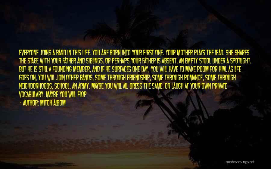 Friendship Distance Quotes By Mitch Albom