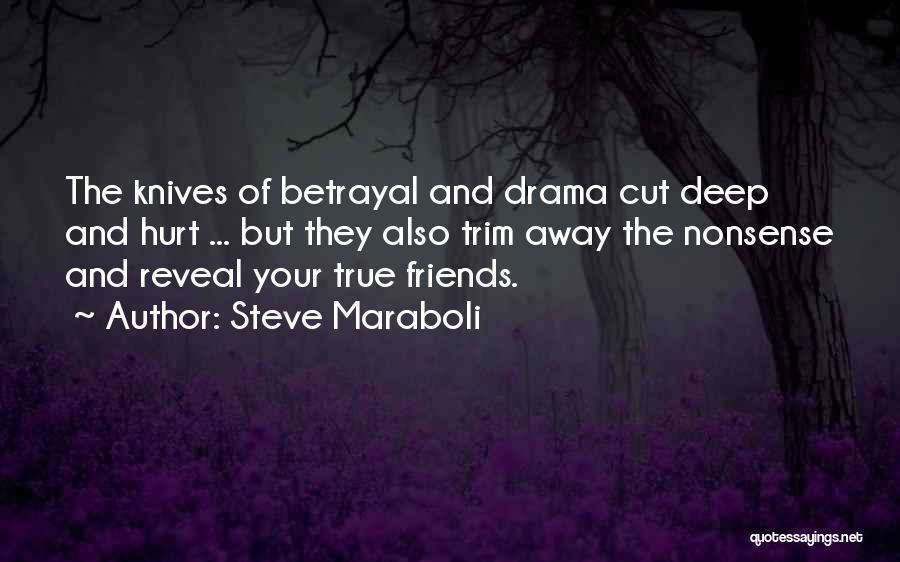 Friendship Drama Quotes By Steve Maraboli
