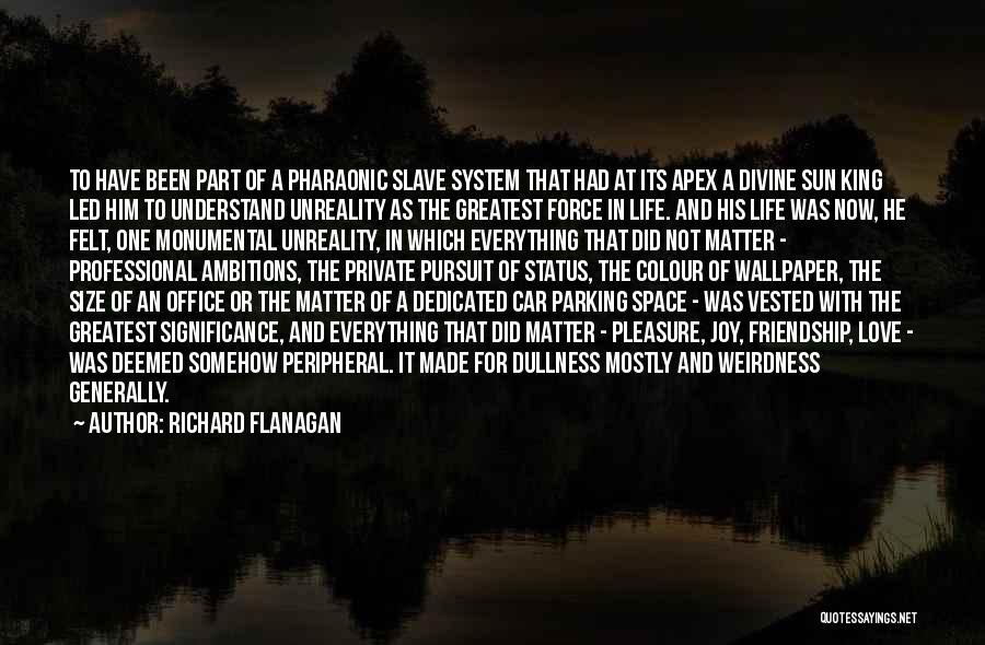 Friendship From The Office Quotes By Richard Flanagan