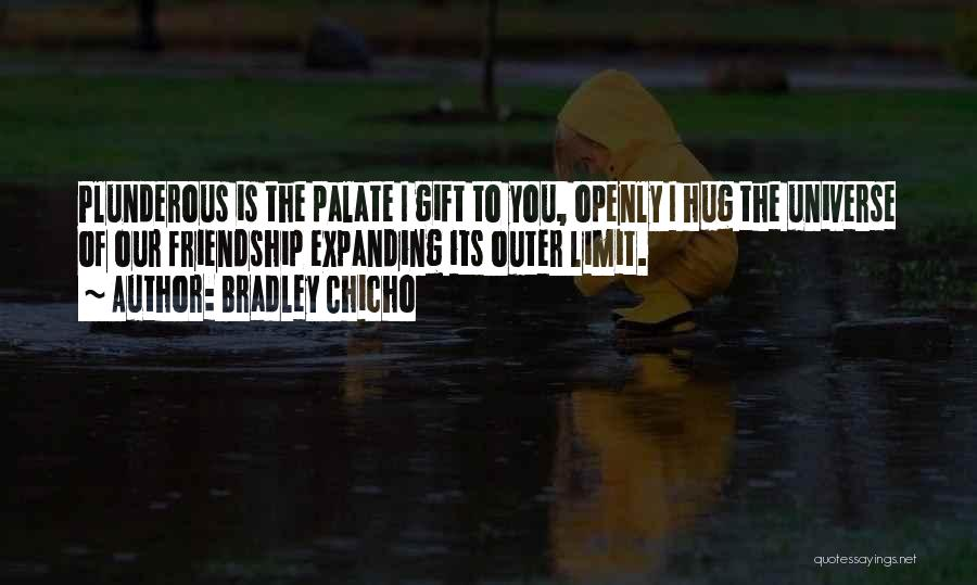 Friendship Has No Limit Quotes By Bradley Chicho