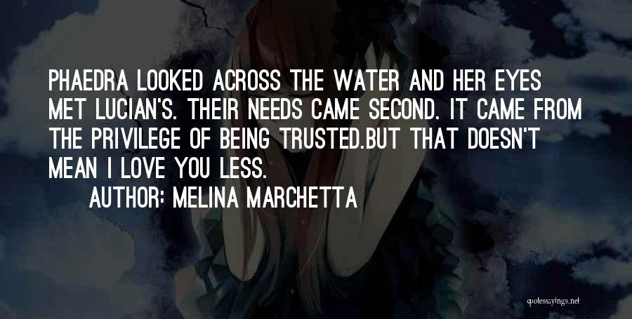 Friendship Lovers Quotes By Melina Marchetta