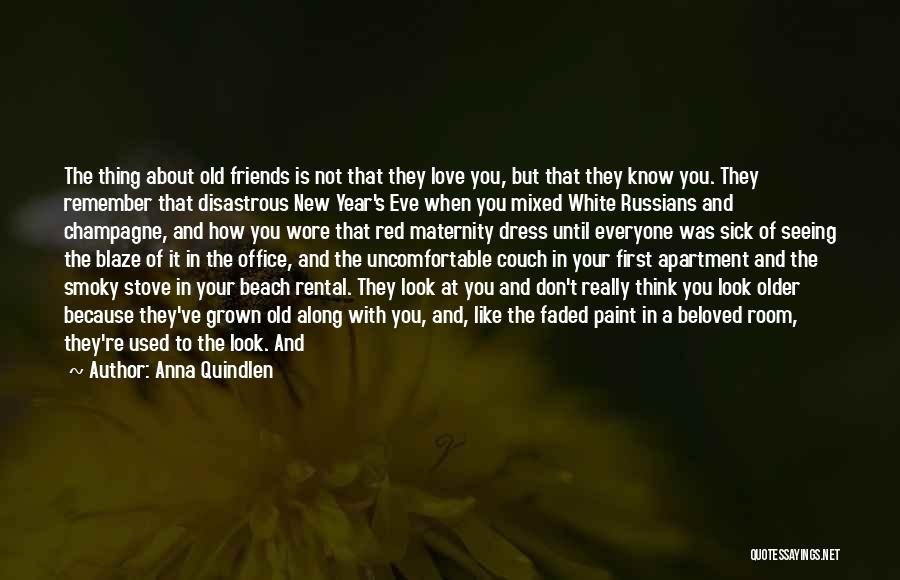 Friendship Measure Quotes By Anna Quindlen