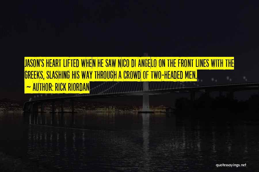 Friendship Reunion Quotes By Rick Riordan