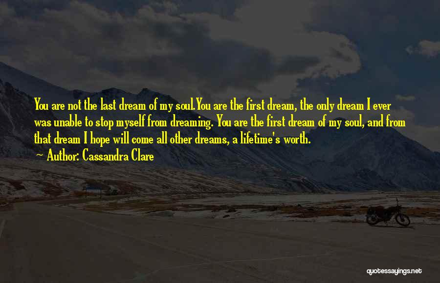 From First To Last Quotes By Cassandra Clare