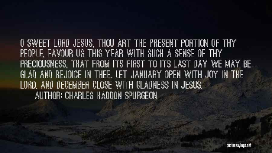 From First To Last Quotes By Charles Haddon Spurgeon