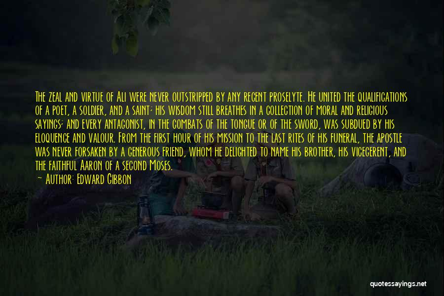 From First To Last Quotes By Edward Gibbon