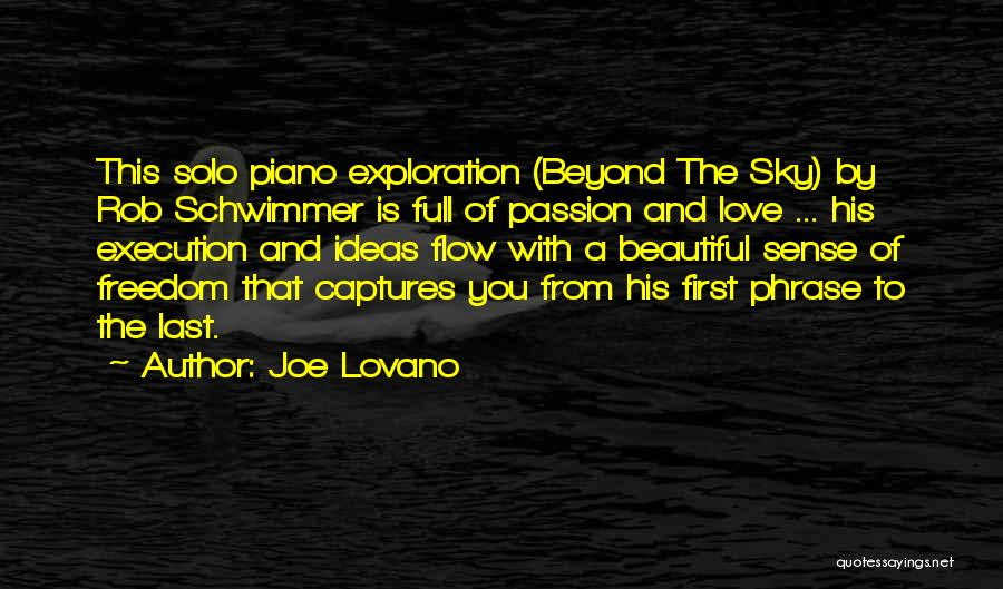 From First To Last Quotes By Joe Lovano