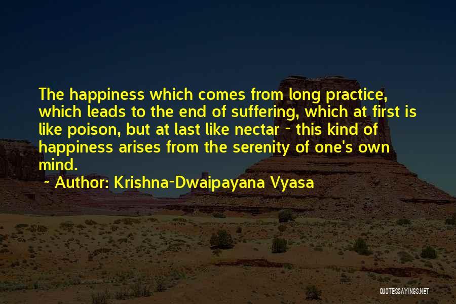 From First To Last Quotes By Krishna-Dwaipayana Vyasa