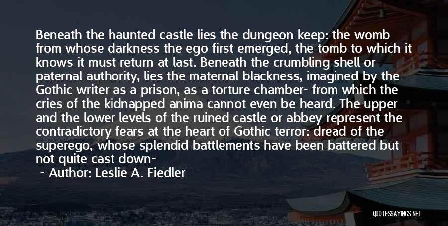From First To Last Quotes By Leslie A. Fiedler