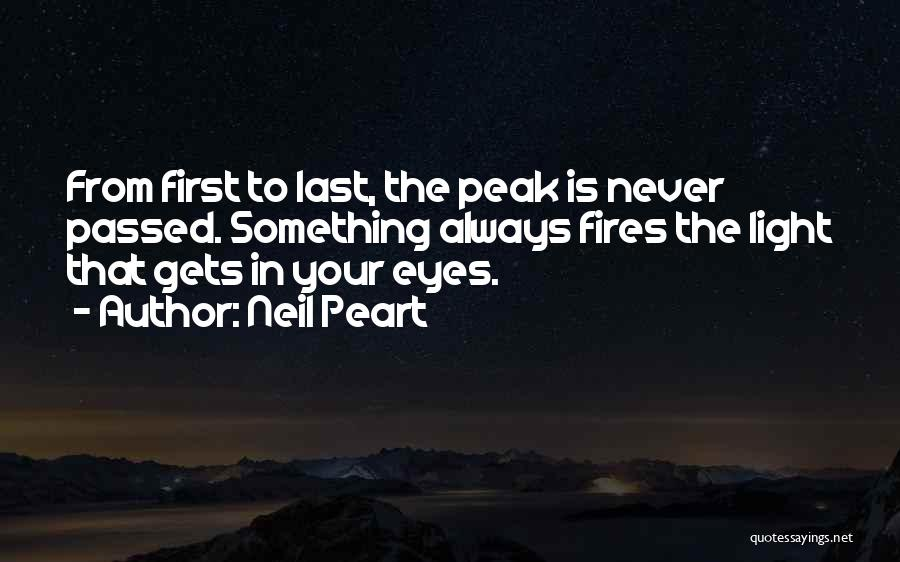 From First To Last Quotes By Neil Peart