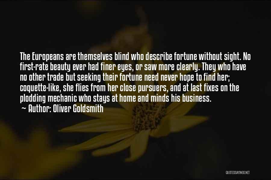 From First To Last Quotes By Oliver Goldsmith