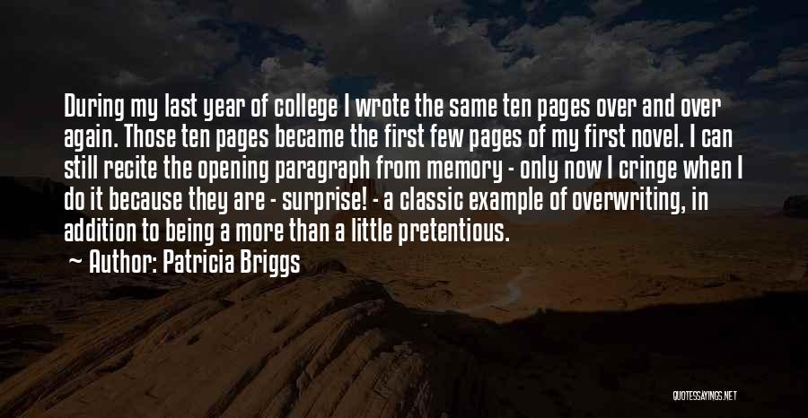 From First To Last Quotes By Patricia Briggs