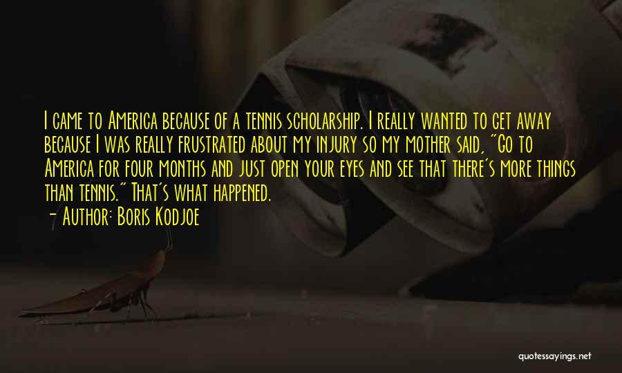 Frustrated Quotes By Boris Kodjoe