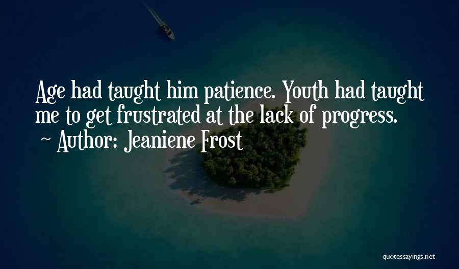 Frustrated Quotes By Jeaniene Frost