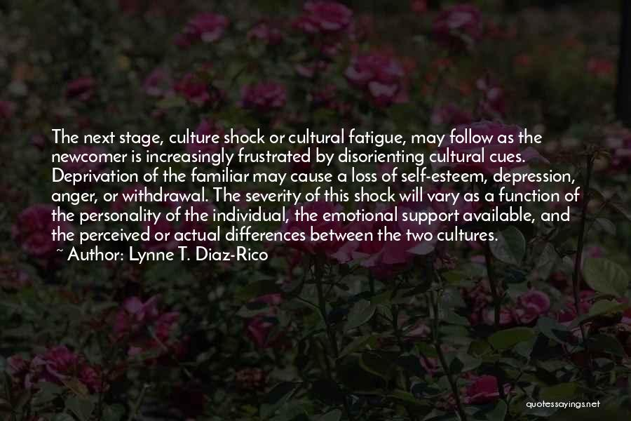 Frustrated Quotes By Lynne T. Diaz-Rico