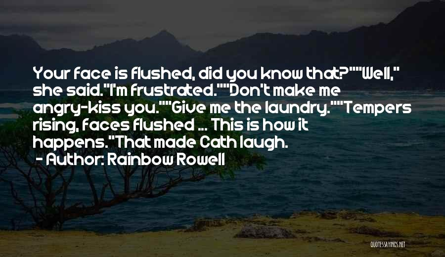 Frustrated Quotes By Rainbow Rowell