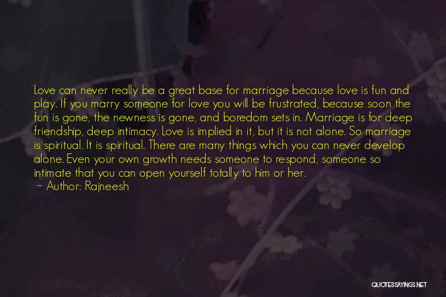 Frustrated Quotes By Rajneesh